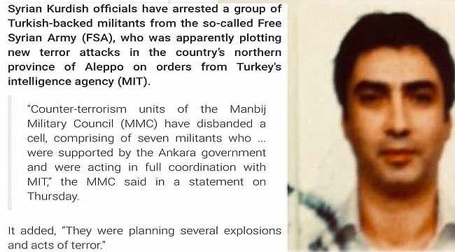 İran Press TV'nin Necati Şaşmazlı Münbiç Haberi