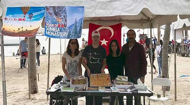 Miami Maratonunda Türk Standı