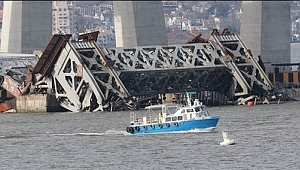 New York'ta Tappan Zee Köprüsü Yıkıldı