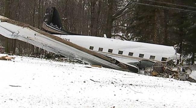 Ohio'da uçak kazası: 2 ölü, 4 yaralı