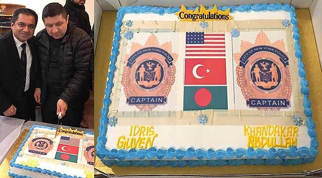 Türk Asıllı New York Polis Müdürüne Kutlama