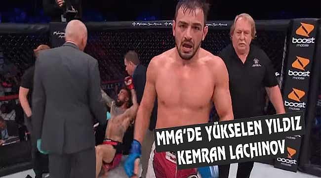 ABD MMA Liginde Bir Türk: Kemran Lachinov