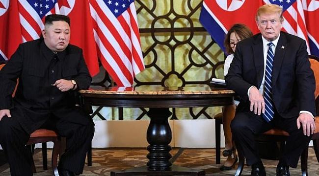 Donald Trump - Kim Jong-un Anlaşamadı
