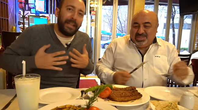 İlkay Zaman Ali Baba Restorant'ta