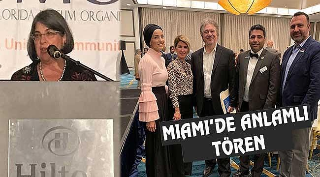 Miami'de Müslümanlara Destek Ödülleri