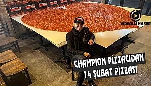 New York'ta Hayırsever Diyarbakırlı'dan 14 Şubat Pizzası