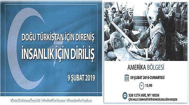 Türkler, New York'ta Türkistan İçin Toplanıyor