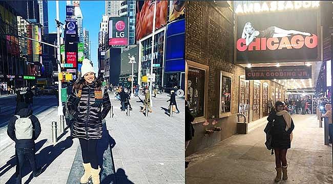 Zara Konser için New York'ta