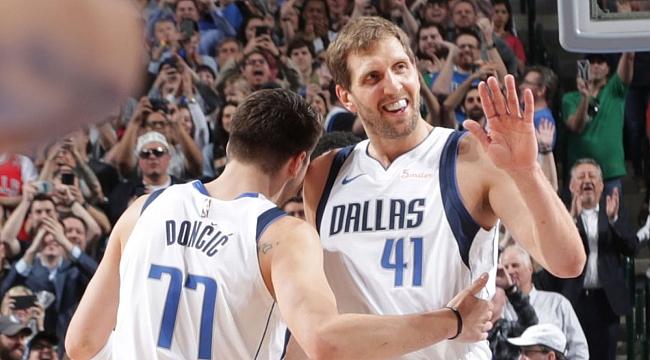 Dirk Nowitzki Wilt NBA Tarihine Geçti