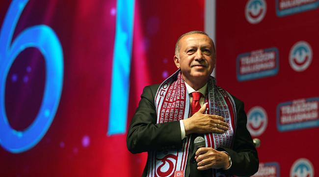 Erdoğan: Golan Tepeleri Peşkeş Çekiliyor