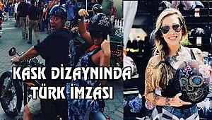 Los Angeles'ta Kask Dizayn Eden Türk