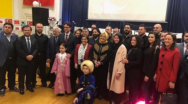 New Jersey'de İstiklal Marşı Etkinliği