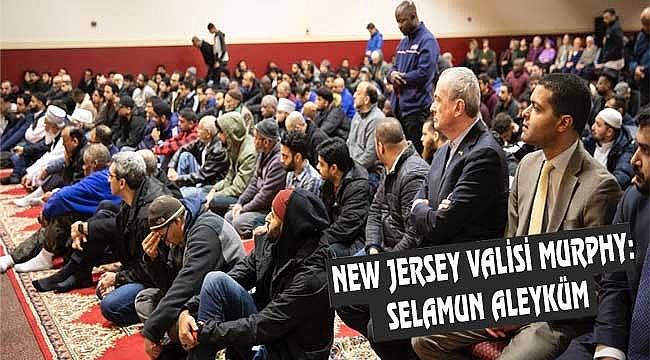 New Jersey Valisi Cuma Namazına Geldi