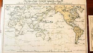 New York'ta Osmanlı Haritası