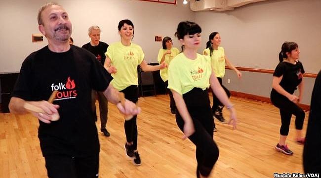 New York'ta Türk Halk Dansı Dersi