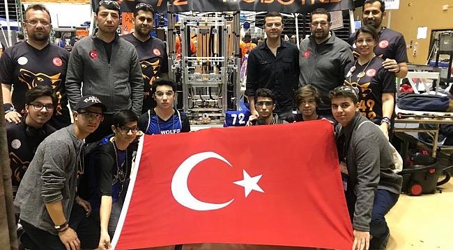 Orlando First Robotics Competition'ta Türk Takımı