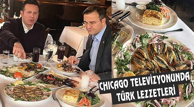 Türk Yemekleri Chicago ABC Kanalında