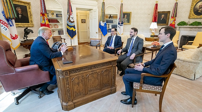 Bakan Albayrak, Trump ile Görüştü