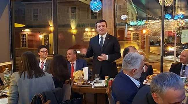 Bakan Yardımcısı Türk Toplumuyla Bir araya geldi