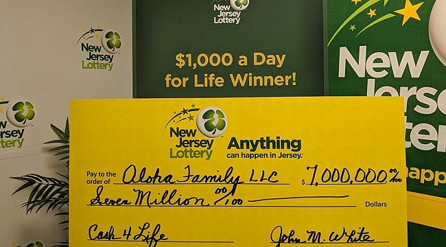 Cash4Life lottery ticket worth $1K a week for life sold at N.J. ShopRite