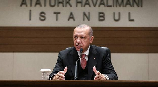 Erdoğan: Organize suçun Bazı Eylemleri Var