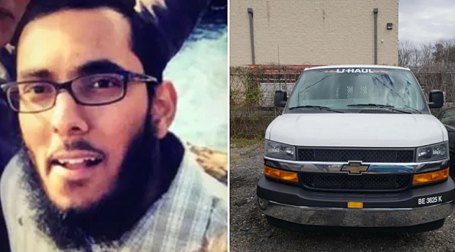 Maryland man charged with stealing U-Haul to carry out truck attack
