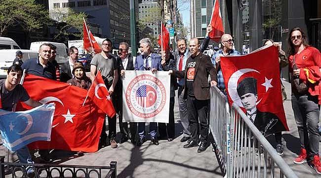 New York'ta Türkler Ermenilere Karşı