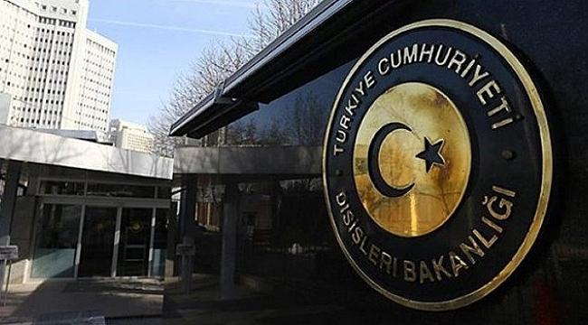 Türk Dışişlerinden ABD Raporuna Tepki