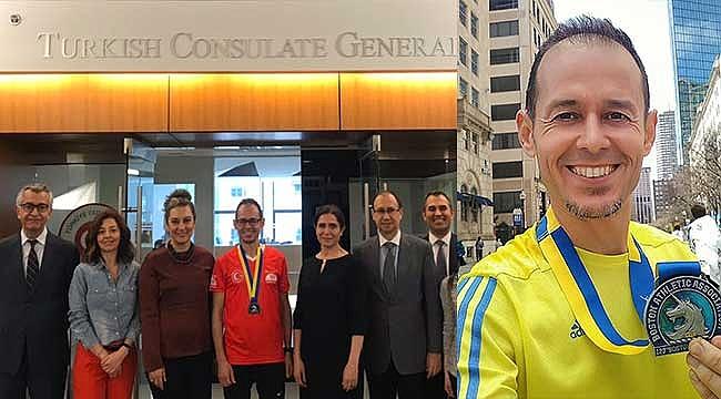 Türk Koşucu Yüksel, Boston'da 3. oldu