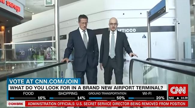 Yeni Havalimanı CNN ınternational'da