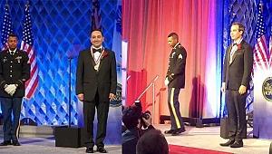 Amerika'da 3 Türk'e En Saygın Madalya Verildi