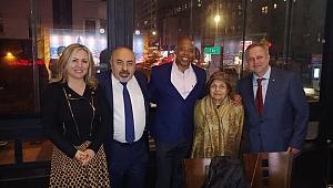 Brooklyn Belediye Başkanı Adams Türklerle Buluştu