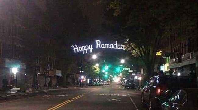 Brooklyn'de Ramazan Mahyası