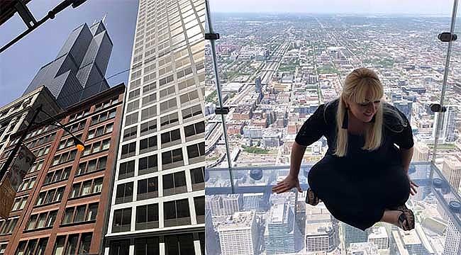 Chicago'da Yürekleri Ağza Getiren Sky Deck