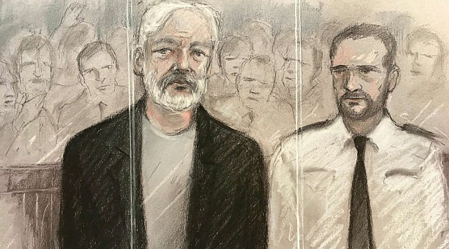 Julian Assange sentenced to 50 weeks in prison for jumping bail by British court