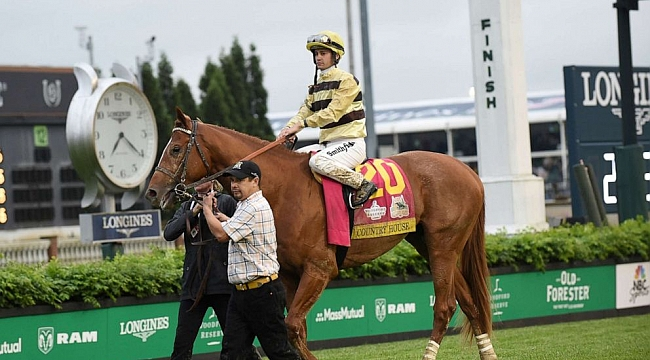 Kentucky Derby winner Country House will not race in Preakness Stakes due to health