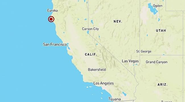 California'da Şiddetli Deprem