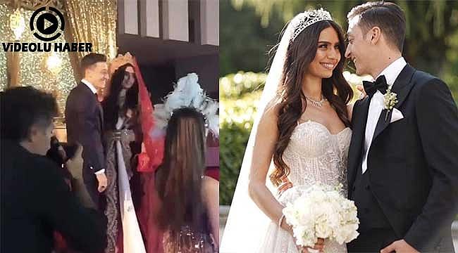 Mesut Özil'in Düğününde Ölürüm Türkiyem Türküsü