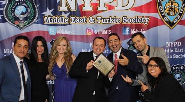 New York Polisinden Ali Çınar'a Ödül