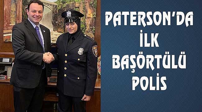 Paterson'da Başörtülü Polis Göreve Başladı