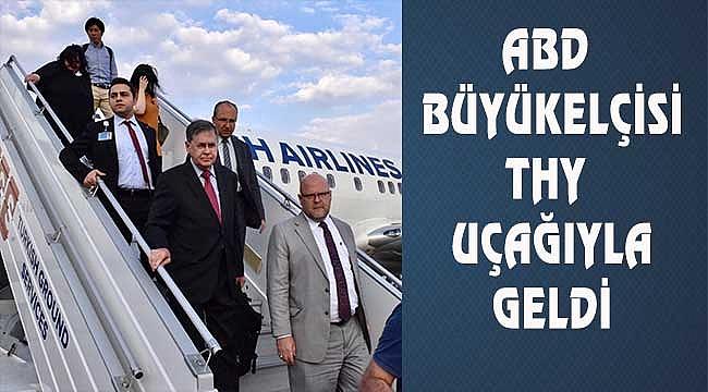 ABD Büyükelçisi Ankara'da