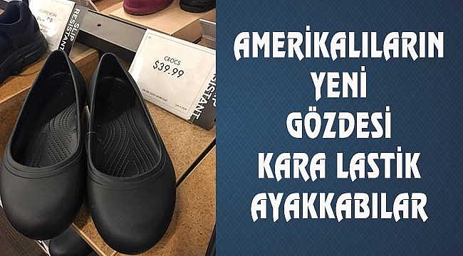 Kara Lastik Ayakkabı:40 Dolar