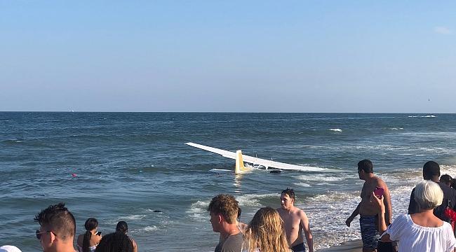 Maryland'te Uçak Denize Zorunlu İniş Yaptı