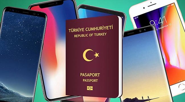Türkiye'ye IPHONE götürme vergisi arttı