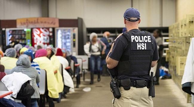 Amerika'da Göçmen işçilere Gözaltı