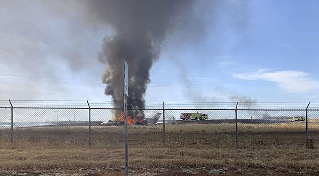 California'da Uçak Düştü