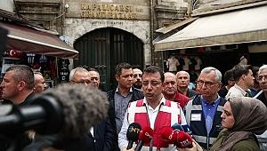 İmamoğlu İstanbul'da Su Baskınlarına İncelemelerde Bulundu