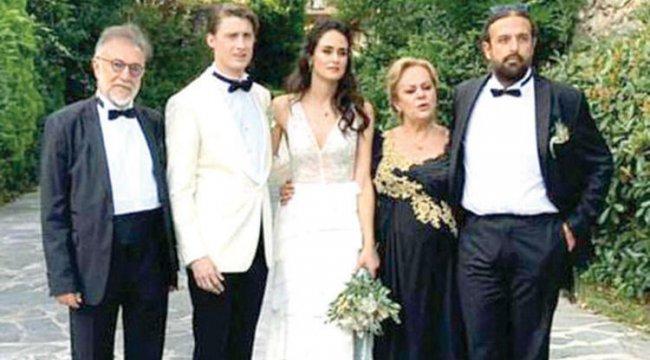 Yalıda düğün: Hazel Levent ve Fabrice