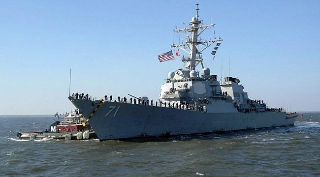 ABD Savaş Gemisinin Lübnan'a Demir Atması Siyasi Bir Mesaj'