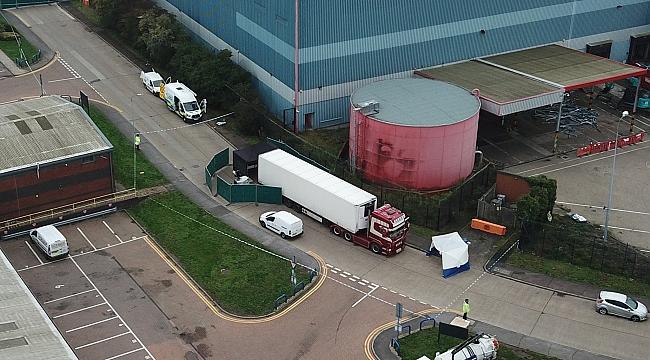 Essex'te Bir TIR'da 39 ceset bulundu